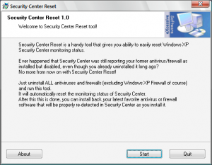 How to remove dumb software from Security Center | Wilders