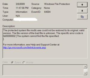Msdtc Windows 10