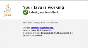 Installing Sun Java jre on CentOS, SL6 etc  | Wilders Security Forums