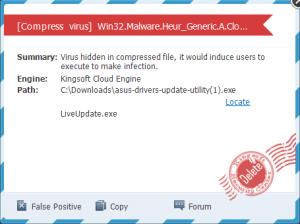 Kingsoft Antivirus 2012 [Cloud] | Page 31 | Wilders Security