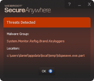 Refog keylogger not detected by some antiviruses | Wilders Security