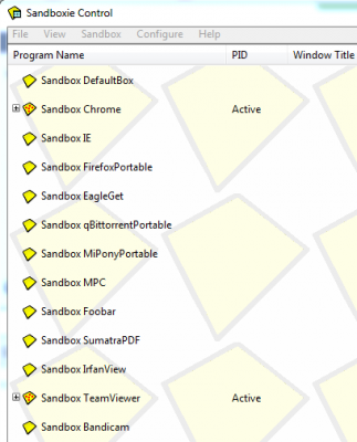 What apps do you run sandboxed? | Wilders Security Forums
