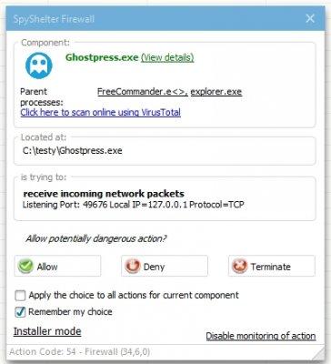 Ghostpress - Free AntiKeylogger | Wilders Security Forums