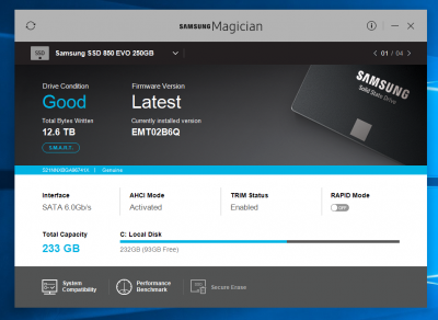 Samsung Magician   Page 3   Wilders Security Forums
