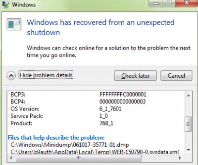 Avira error <-857735115>: virus?   Wilders Security Forums