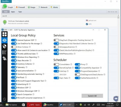WPD - Windows 10 Privacy Dashboard   Wilders Security Forums