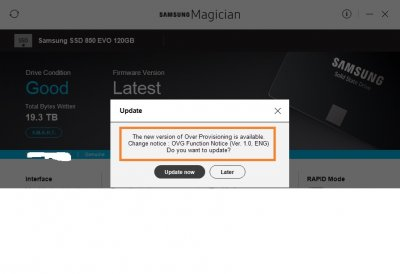 Samsung Magician | Page 5 | Wilders Security Forums