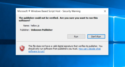 Are you really blocking Windows Script Engines? | Wilders