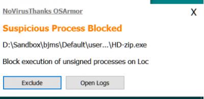 NoVirusThanks OSArmor: An Additional Layer of Defense | Page