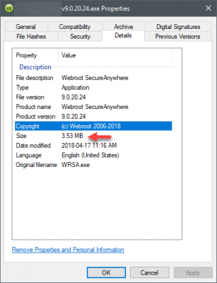 how to whitelist a program in webroot