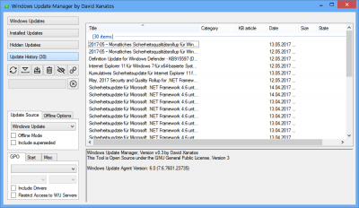 Windows Update Manager | Wilders Security Forums