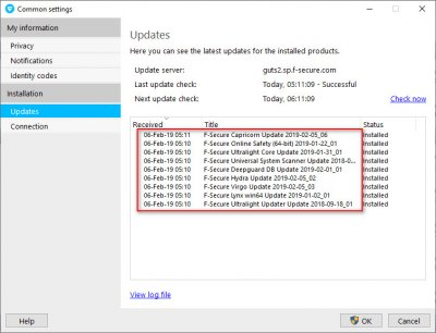 F-Secure with new engine | Wilders Security Forums
