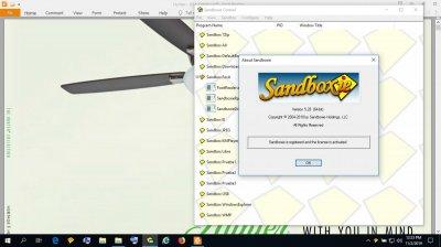 Is Sandboxie useless on Windows 10? | Page 5 | Wilders