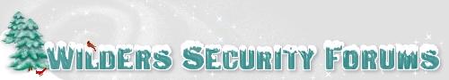 wilders security forums logo
